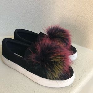 Steve Madden sneakers with pompom
